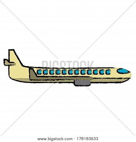 plane transport business travel vector illustration eps 10