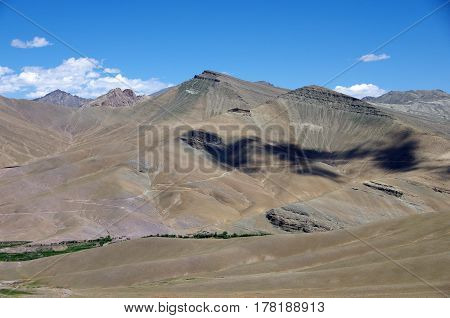 Beautiful Himalayan landscape near Kargil in Ladakh, India