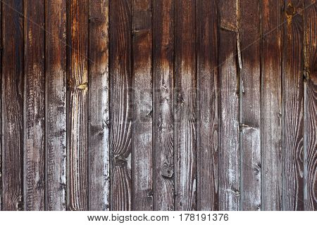 Small  Part Of Grungy Old Fence