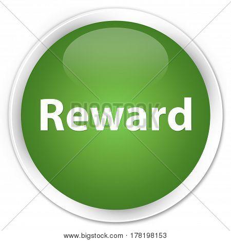 Reward Premium Soft Green Round Button