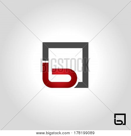 letter b logo icon and shape vector illustration