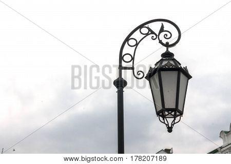 Handing Street Lamp. Street Lamp.