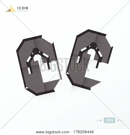sandal icon flat black color vector design support eps 10.