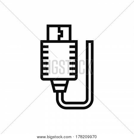USB Adapter icon vector design support file eps10.