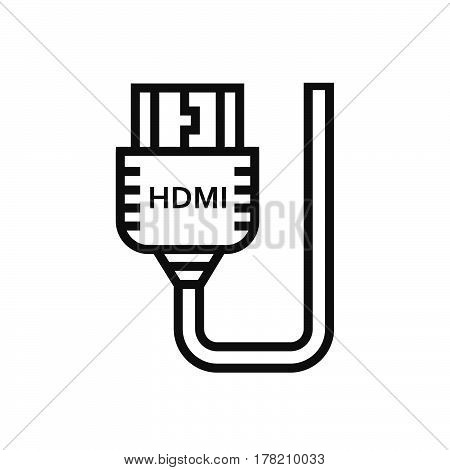 HDMI Adapter icon vector design support file eps10.