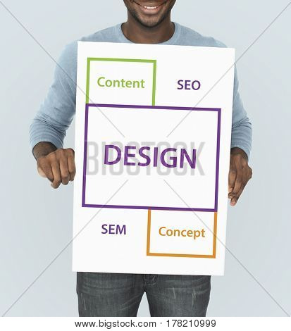 Design SEO Content Word Boxes
