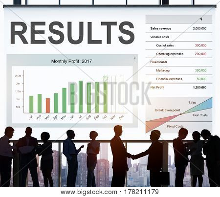 Business people working network graphic overlay background
