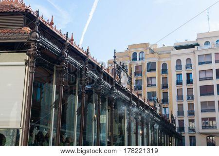 The San Miguel Market in Madrid Spain