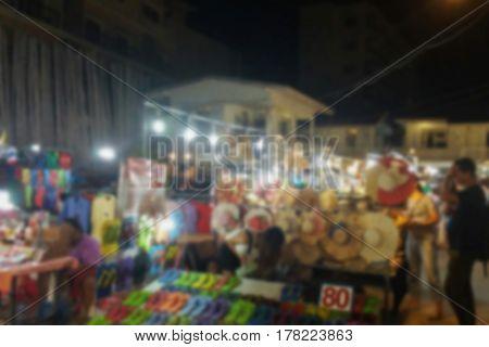 blurred photo, Blurry image, Street market, background