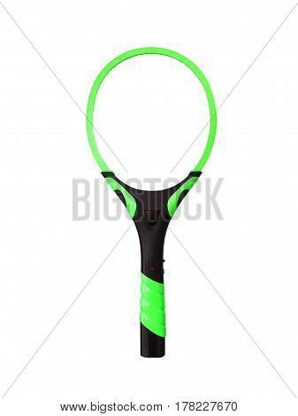 Electric mosquito bat  on a white background