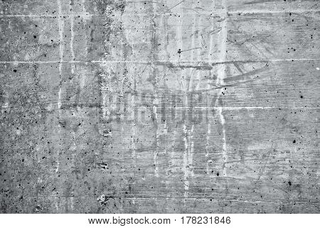 Grunge gray concrete background bleak wall surface texture