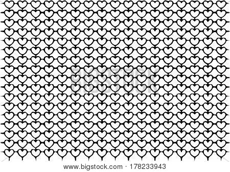 wire mesh line pattern in vector color