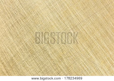 Brushed Brass Metal Surface. High-detailed Metal Texture.