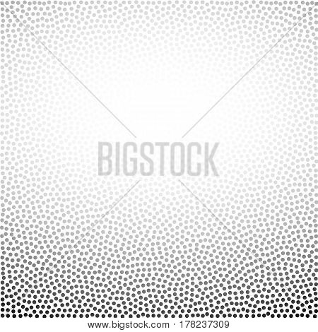 chaotic dots halftone background. vector graphic element for design