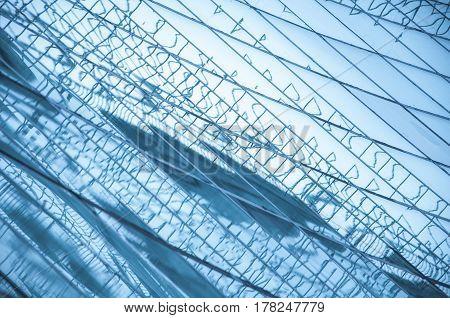 Textured Large Windows