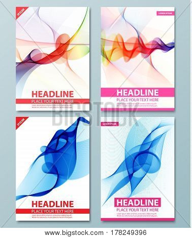 Abstract background. Flyer, brochure, poster, presentation, leaflets, business card, document cover pages, annual report, magazine cover vector template Modern corporate design A4 title sheet template
