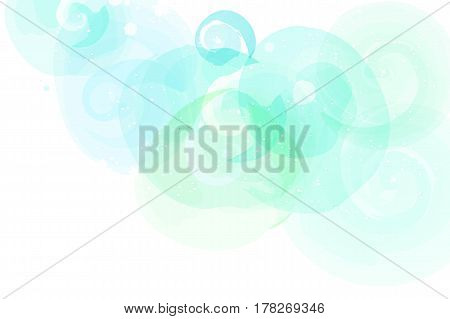 Soft colored abstract background for design. Watercolor texture effect.
