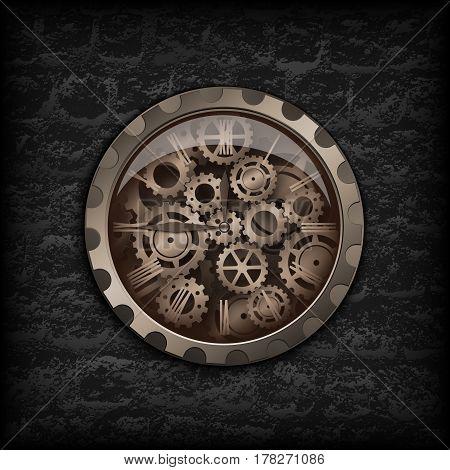 Metal Clock Gear Mechanism