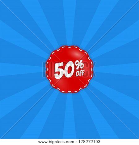 Big Sale poster, banner. Special offer. Vector illustration.