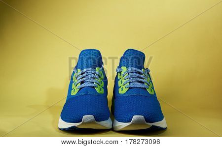Simple Pair Of Running Shoes