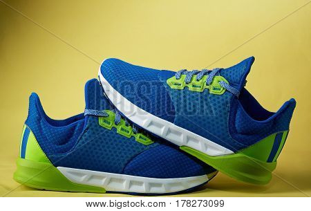 Pair Of Colorful Trainer Shoes