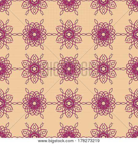 Circular pattern background infinite contrast mandalas texture