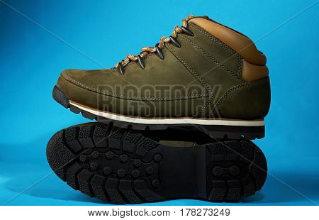Display Of New Modern Hike Shoes