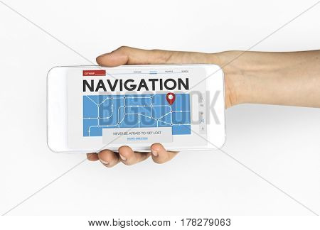 Travel Navigation Tech Trip Word