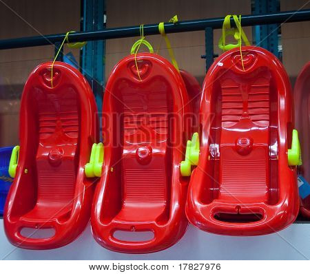 Sale Of Children's Sleds