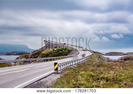 Norway Atlantic Ocean Road or the Atlantic Road (Atlanterhavsveien) been awarded the title as