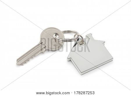 House key with clipping path