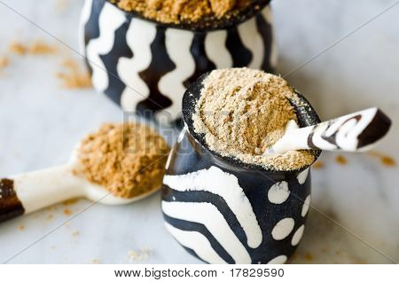 Spices In African Bowls