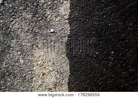 Asphalt, asphalt texture, asphalt background, asphalt coating. Grunge background. Gray background. Gray grunge.