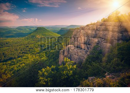 Cave Towns Valley