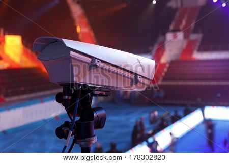 Tv In The Boxing Championship