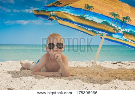 Kid On A Beach 2