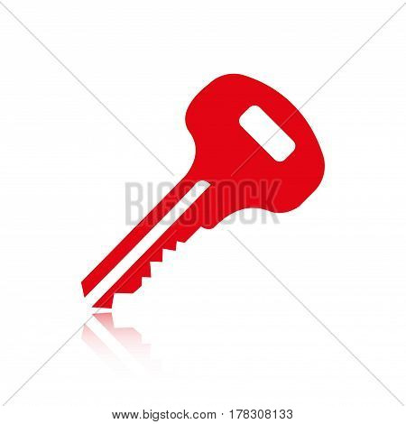 key icon stock vector illustration flat design