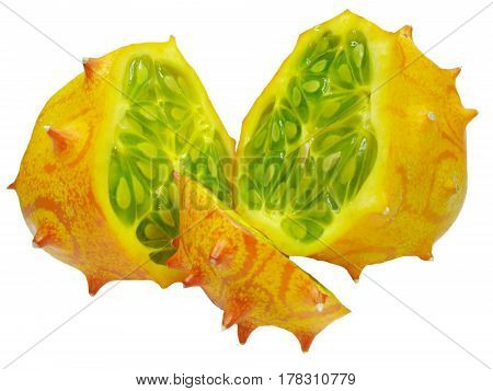 kiwano horned melon thailand tropical fruit food