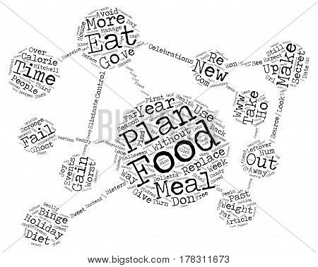 Ghost of Binges Past text background word cloud concept