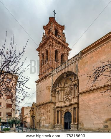 Church of la Asuncion (Spanish: Iglesia Arciprestal de la Asuncion) is a Roman Catholic church located in Almansa Spain.