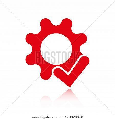 screwdriver icon stock vector illustration flat design