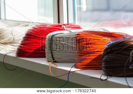 Coil Cable Different Colors