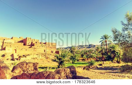 View on Kasbah des Caids by Tamnougalt