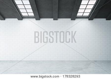 Blank Brick Wall