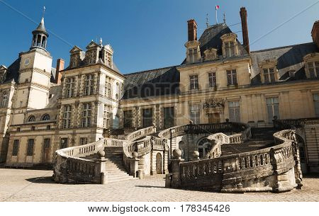 The Fontainebleau castle was the residence of French monarchs from Louis VII through Napoleon III. Today it is a national museum and a UNESCO World Heritage Site.