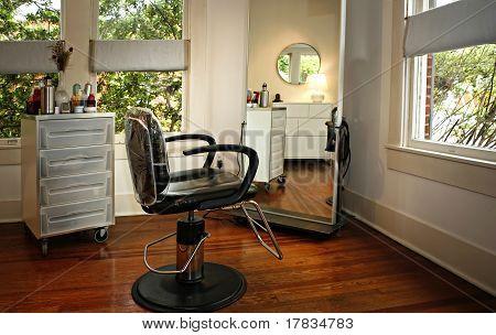 Room Interior in modern beauty salon
