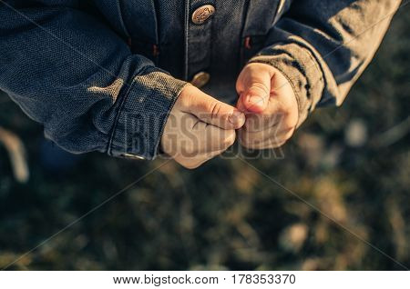 Hands Of A Homeless Child