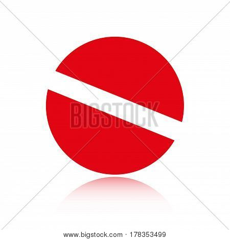 pills icon stock vector illustration flat design