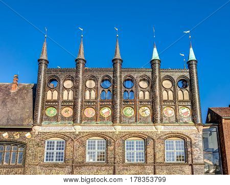 Town hall of the Hanseatic City of Lubeck