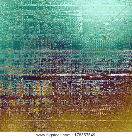 Scratched grunge background or spotted vintage texture. With different color patterns: yellow (beige); brown; blue; purple (violet); cyan